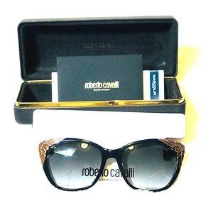 NWT! Roberto Cavalli Castagneto Sunglasses